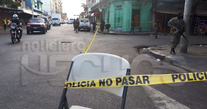 Tres lesionados de bala tras ataque de pandilleros en el centro de San Salvador