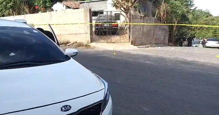 Intento de robo termina en tiroteo en Tonacatepeque