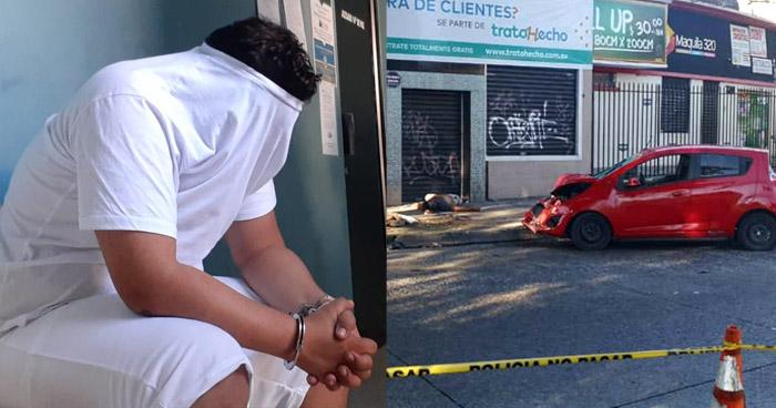 Prisión para conductor ebrio que atropelló y mató a hombre en Redondel Torogoz