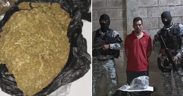 Traficante de droga capturado en Soyapango
