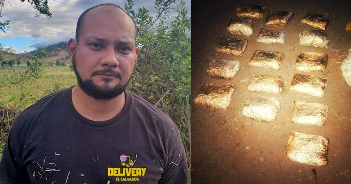 Capturado con más de $7,000 en droga en el occidente del país