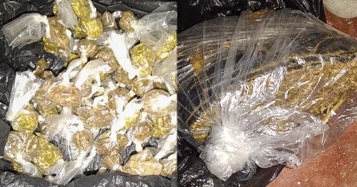 Pandilleros de la MS capturados cuando distribuían droga