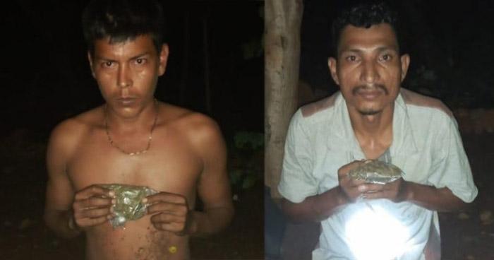 Detenidos cuando distribuían droga en zona fronteriza en Ahuachapán