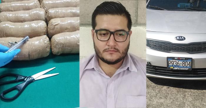 Capturado en el Paseo General Escalón con varios paquetes de droga