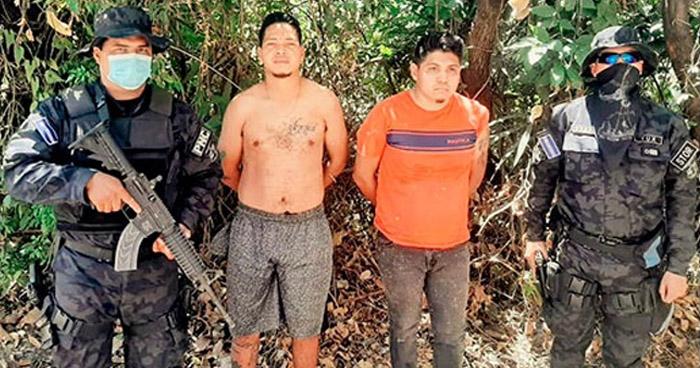 Capturados cuando transportaba droga en El Congo, Santa Ana