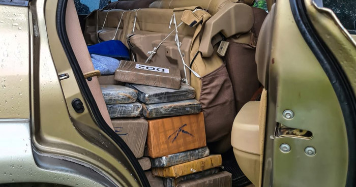 Encuentran 8 paquetes de droga en rancho de la playa El Cuco, en San Miguel