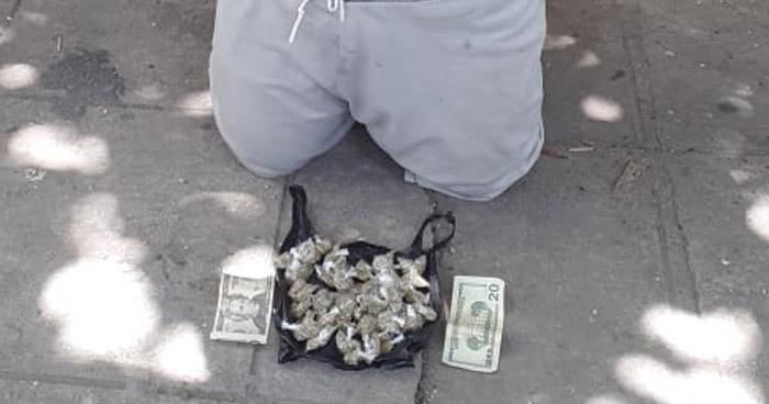 Capturado cuando distribuía droga en San Martín