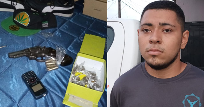 Capturan a traficante de drogas en Santa Ana