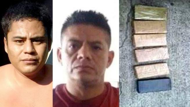 Tras dos capturas incautan varias porciones de cocaína, marihuana y crack