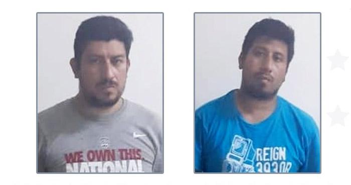 Capturan a hermanos traficantes de personas en frontera La Hachadura