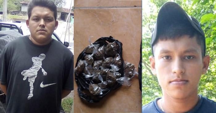 Pandilleros distribuían droga en Morazán