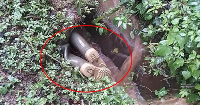 Hombre arrastrado por corriente durante lluvia fue encontrado al interior de un tragante