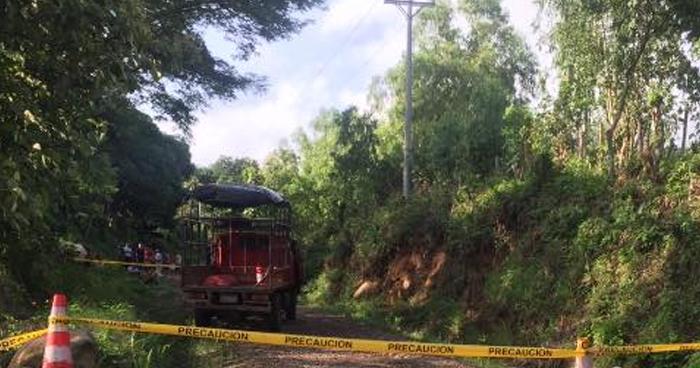 Transportista asesinado cuando trabajaba en Jujutla, Ahuachapán