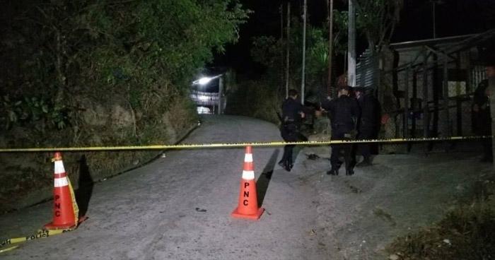 Sujetos fingieron un operativo policial para asesinar a tres hermanos en San Julian, Sonsonate