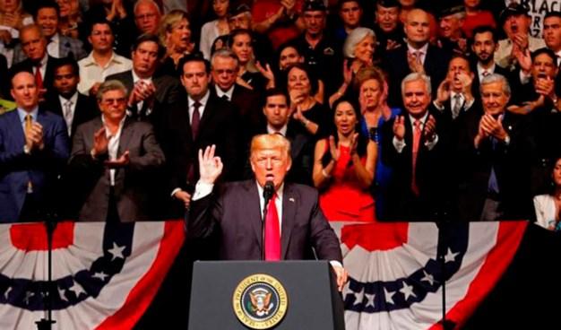 """Trump: """"Con el nuevo cambio de política se va a lograr una Cuba libre"""""""