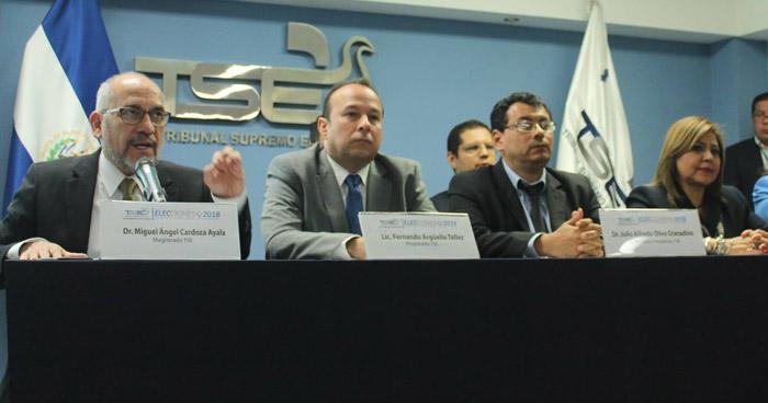 TSE presentó el aplicativo para que salvadoreños en el exterior puedan votar en las elecciones Presidenciales