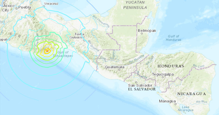No existe amenaza de Tsunami para El Salvador, asegura el MARN