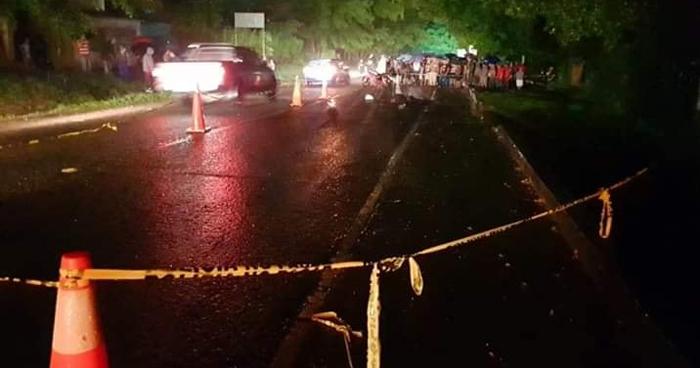 Motociclista muere al chocar contra un vehículo en Turín, Ahuachapán