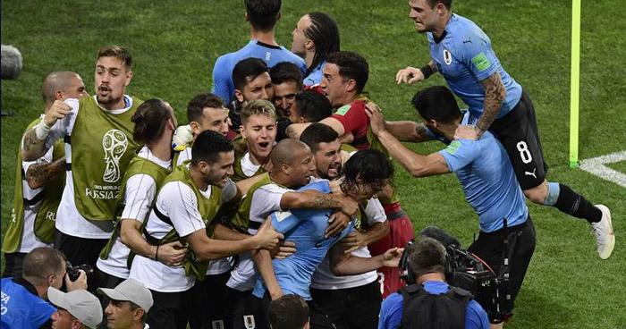 Uruguay se clasifica a los cuartos de final y elimina a Portugal de Cristiano Ronaldo del mundial