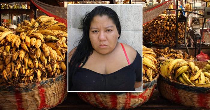 Instrucción con detención para mujer que ocultaba en plátanos la droga que vendía en San Salvador