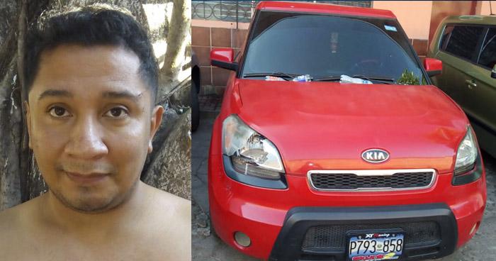 Vendía vehículos que rentaba en Sonsonate
