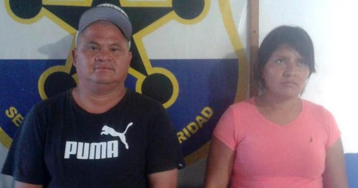 Pareja vendía droga en Santa Rosa de Lima, La Unión