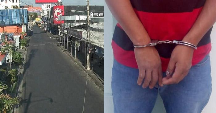 Si desobedece cuarentena domiciliar será detenido y procesado penalmente