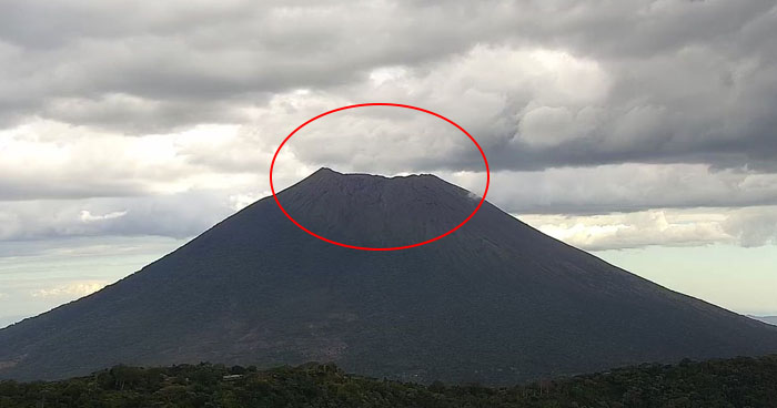 Disminuye actividad sísmica y emisión de gases del Volcán Chaparrastique