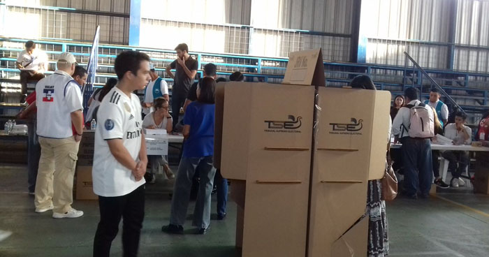 Baja votación: Solo el 45% de la población salvadoreña decidió votar este 3 de febrero