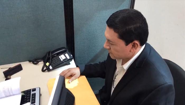 Will Salgado pide cárcel por fraude electoral en San Miguel