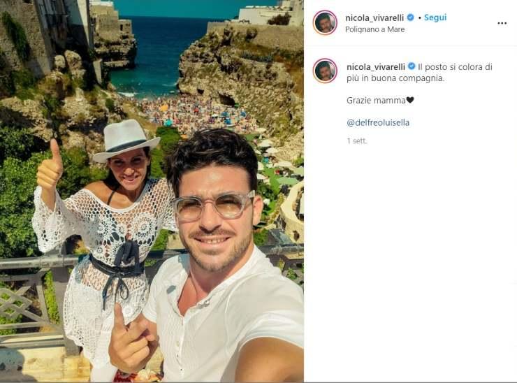 Nicola Vivarelli foto amore - Solonotizie24