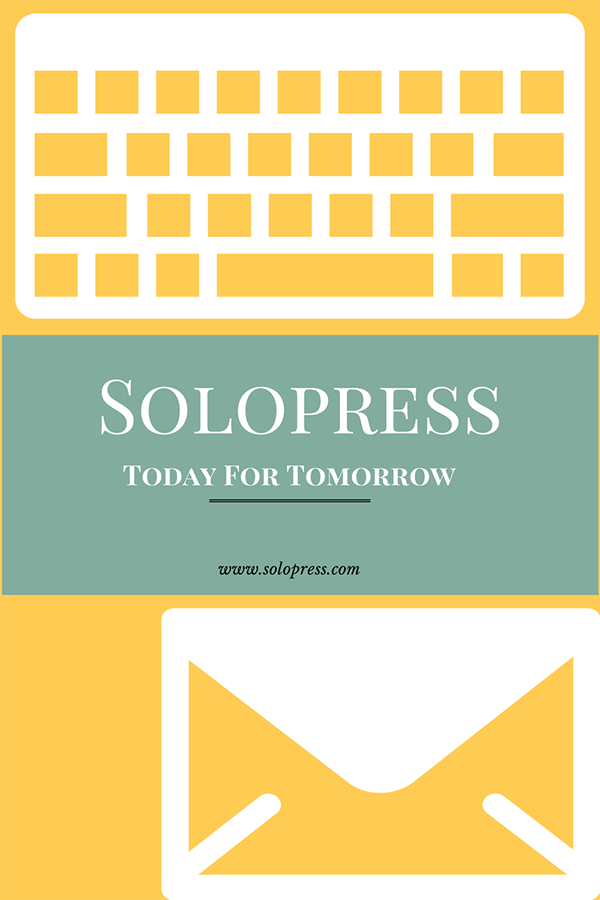 Video blog representing Solopress' new feature