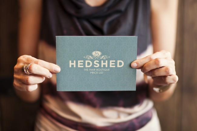 Hedshed 350gsm silk flyer printing in Solopress Spotlight