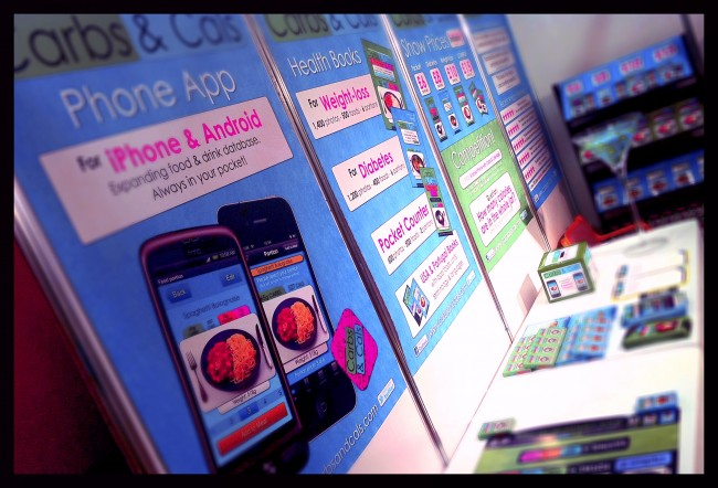 iPhone and Android diet app will be at the London Vitality Show in March 2012