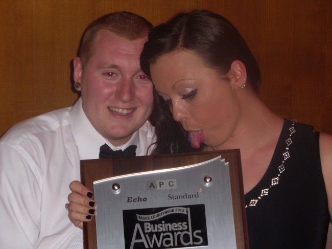 Emma kiss - Solopress Essex Growing Business Award 2012