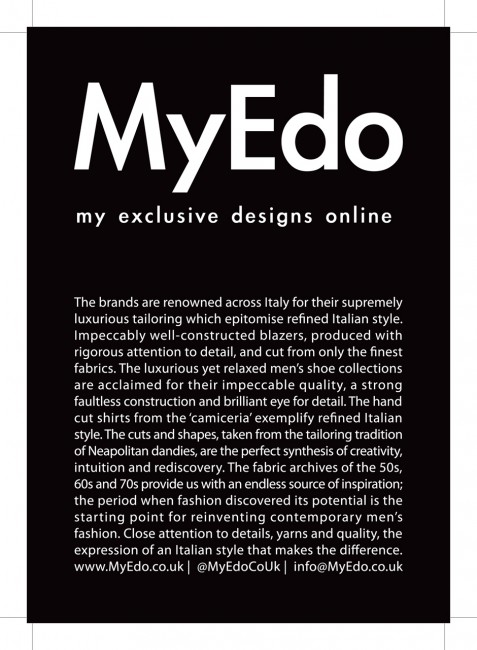 Solopress printed these 130gsm gloss A5 leaflets for MyEdo