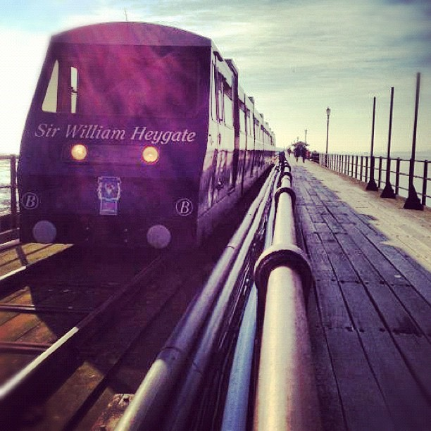 Southend Pier Train Instagram photo by Solopress