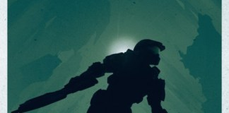 Solopress Design Insight Halo 4 video game poster by Doaly