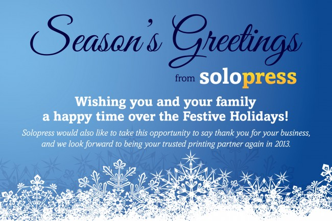 Seasons greetings from solopress m4hsunfo Gallery