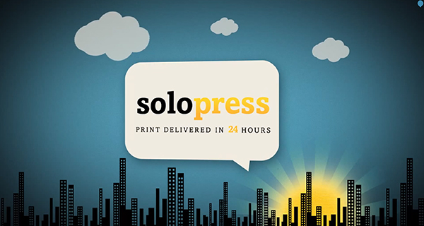 Screenshot from YouTube Video on Why You Should Choose Solopress