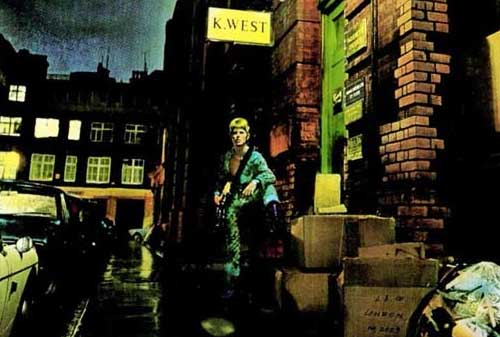 David Bowie Cover for Ziggy Stardust Album