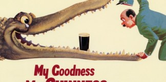 My Guinness vintage poster in Solopress design blog
