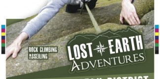 Lost Earth Adventures UK travel poster