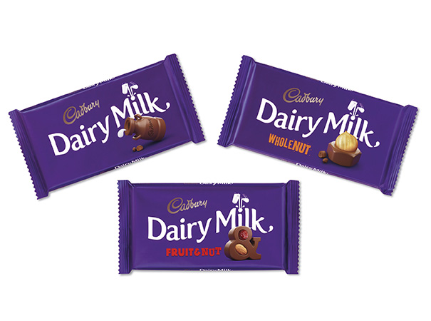 Cadbury Dairy Milk new branding