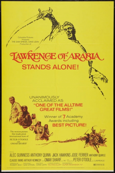 Lawrence of Arabia movie poster 6