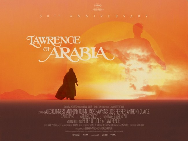 Lawrence of Arabia movie poster 9