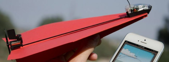 PowerUp Toys paper airplane