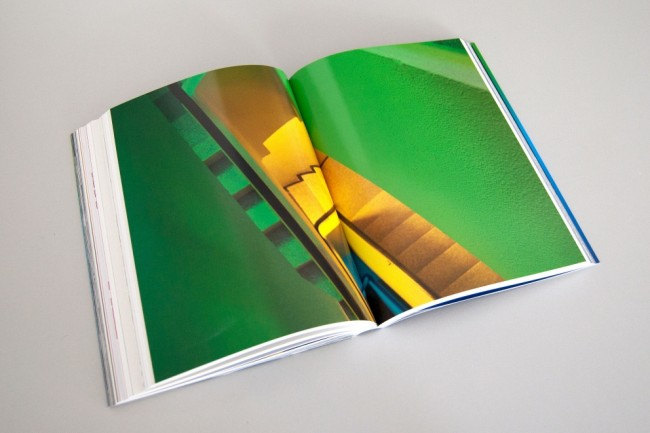 Inside pages of Think in Colour book