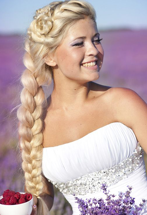 plaits for long hair styles the 6 month wedding plan wedding hairstyles 4928 | Wedding Hair Style Modern Plait