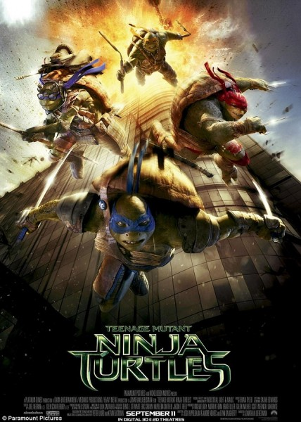 Teenage Mutant Ninja Turtles 9/11 movie poster